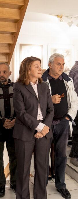 Φωτογραφίες από τα εγκαίνια της έκθεσης στην Αθήνα